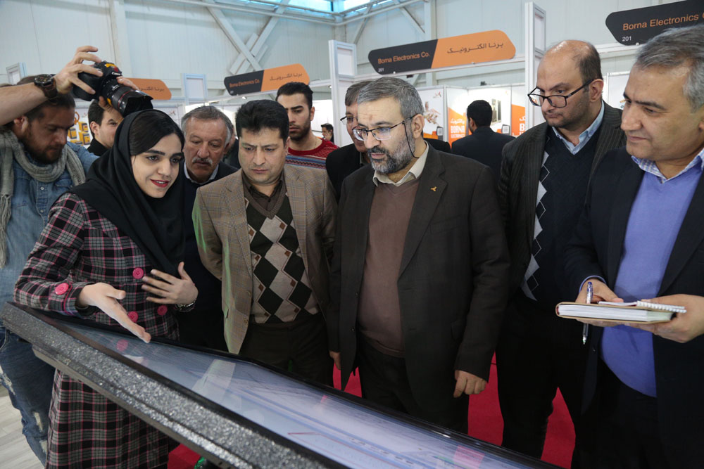 Head of IDRO Visits Int'l Downstream Oil Industries Exhibition