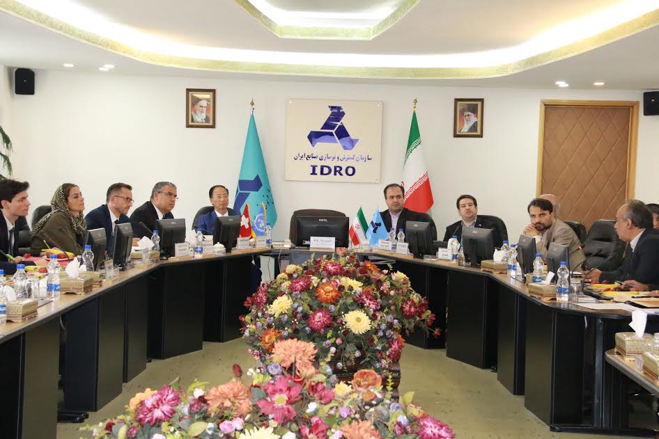 ITC, IDRO Officials Explore Ways of Cooperation