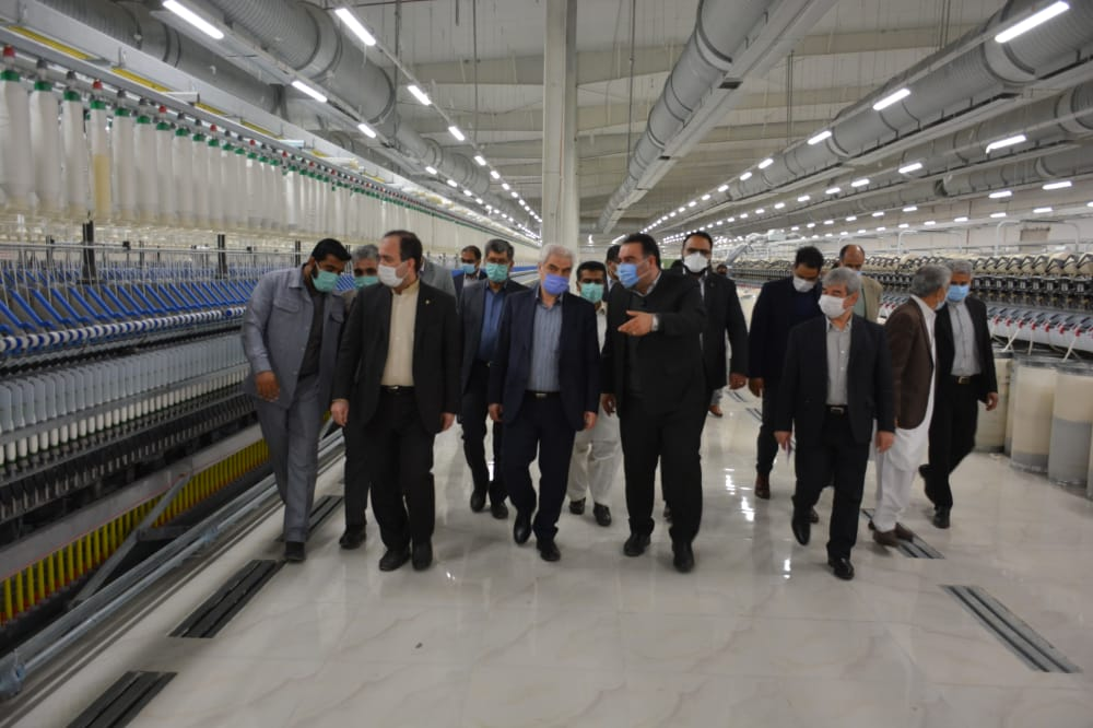 Textile Line of Baluch Factory to Be Launched Early Next Year
