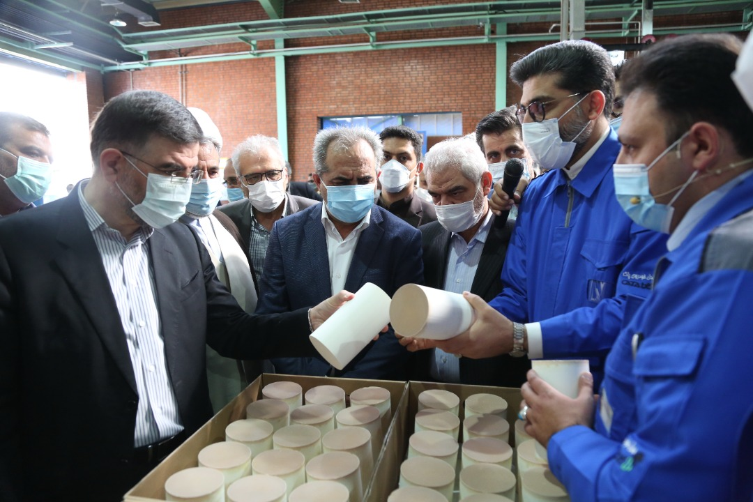 Washcoat Production Line Inaugurated in Qom