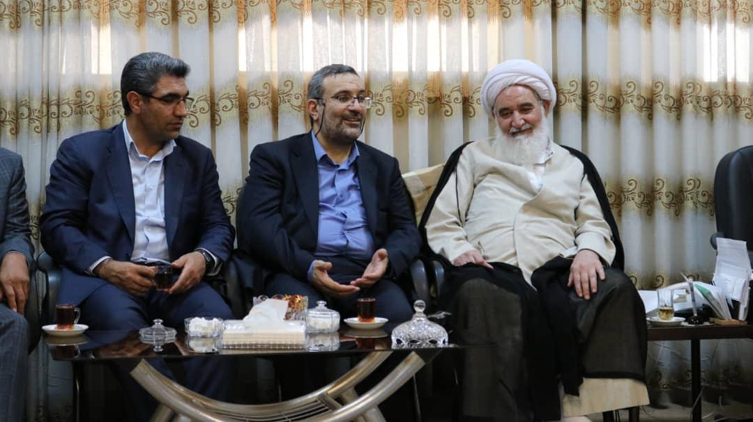 دیدار رئیس هیات عامل ایدرو با استاندار و نماینده ولی فقیه کرمانشاه
