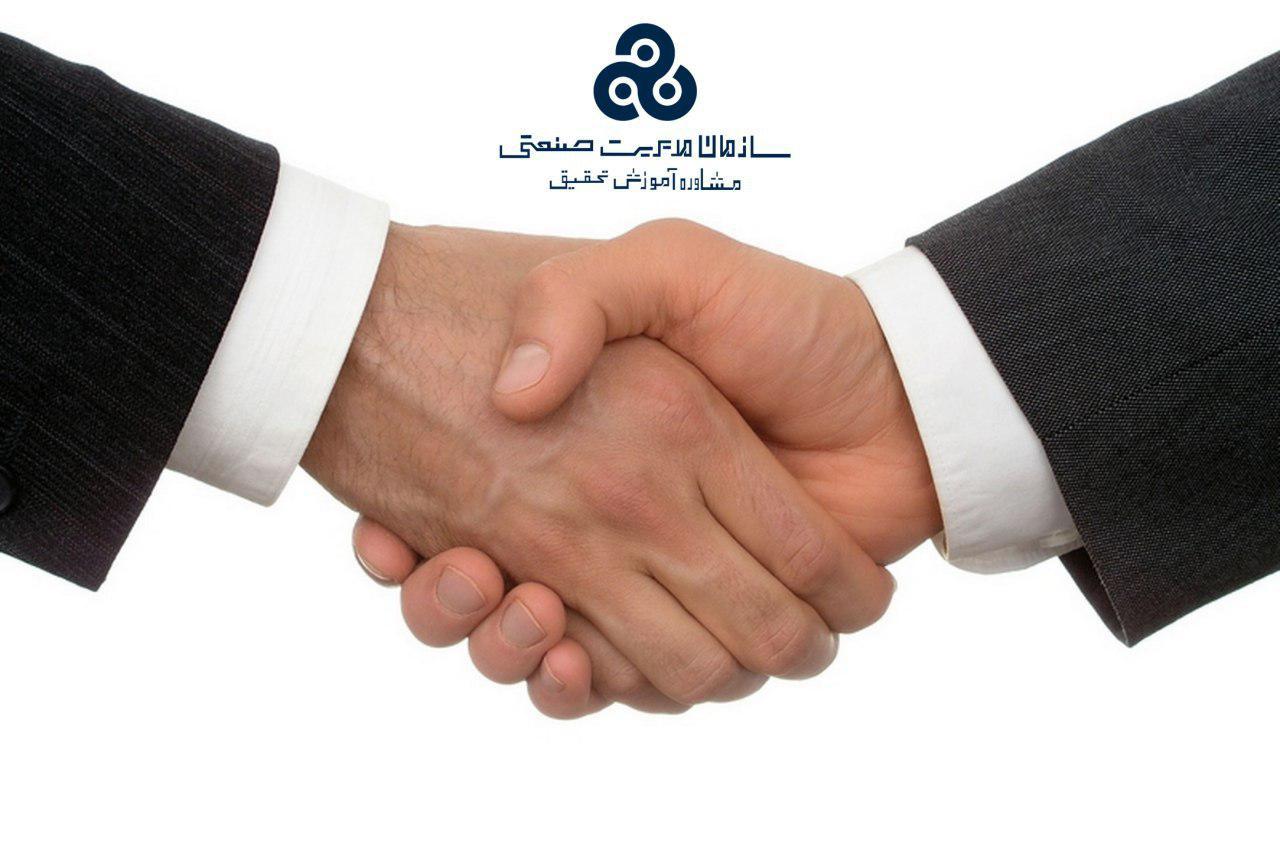 امضا و مبادله تفاهم نامه بین سازمان مدیریت صنعتی و ساتا