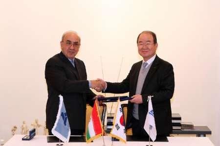 امضای توافق نامه همکاری ایدرو و شرکت کشتی سازی و مهندسی دریایی دوو (DSME)