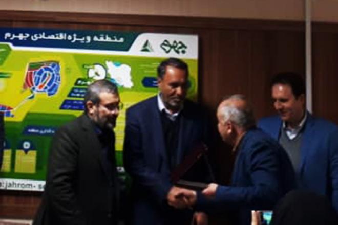 تقدیرمعاون استاندار فارس از اقدامات منطقه ویژه اقتصادی جهرم