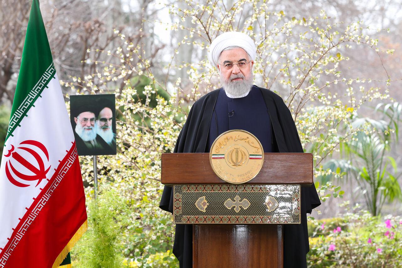 روحانی: سال ۹۹ سال رونق و تحول در زندگی مردم خواهد بود