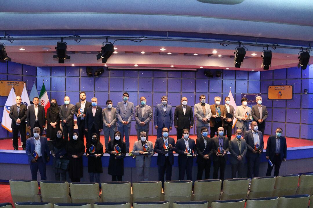 تجلیل از برگزیدگان ششمین دوره جایزه ملی مدیریت انرژی