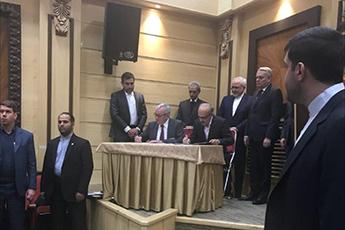 امضای قرارداد تأمین بخشی از تجهیزات خارجی کارخانه بایواتانول کرمانشاه