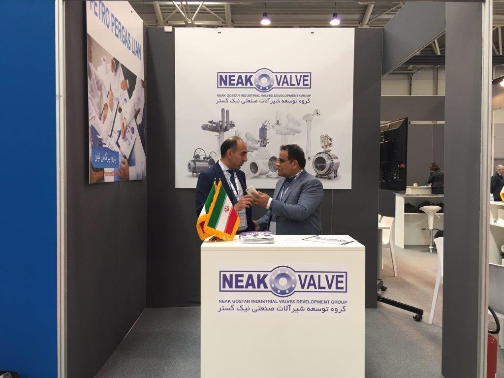 حضور شرکت نیک گستر در نمایشگاه اختصاصی ایران در رم