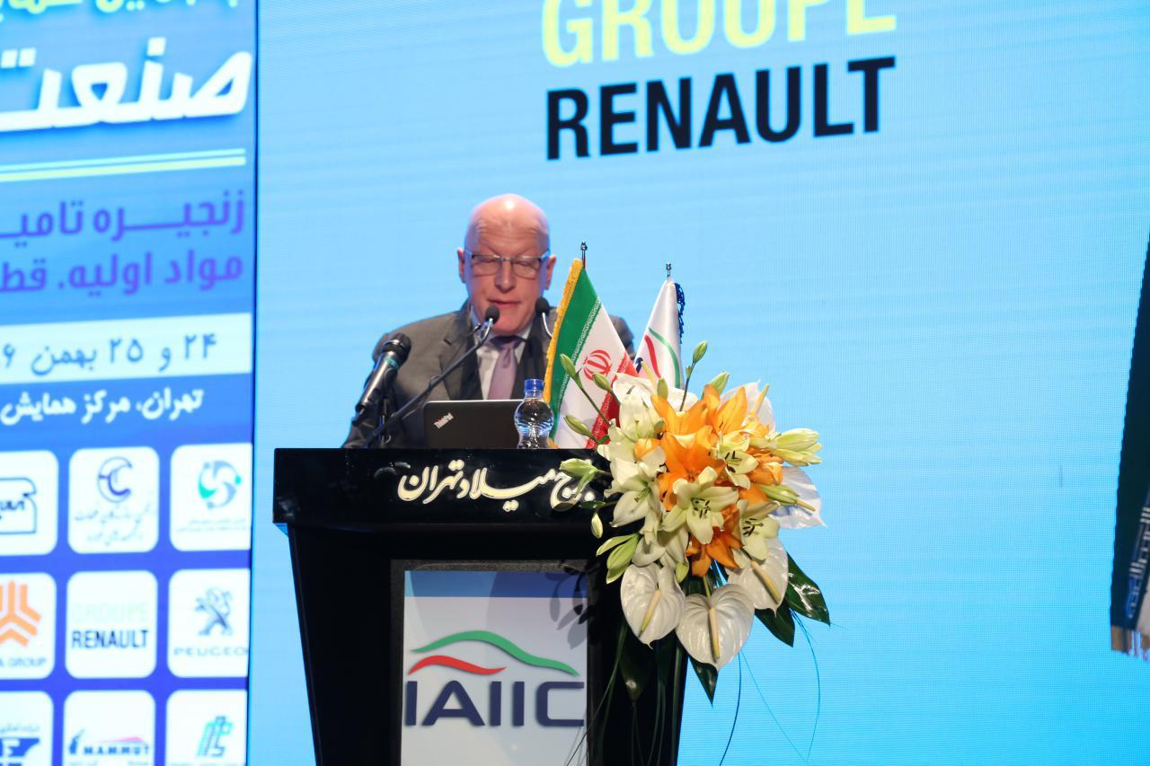 خوشبختانه قرارداد گروه رنو با ایدرو در وضعیت خوبی قرار دارد / فرصتهای شغلی رنو در ایران ده برابر می شود