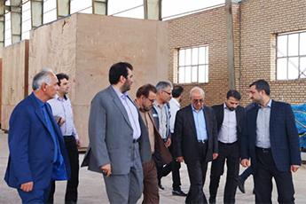 سفر معاون وزیر صنعت،معدن و تجارت و رییس هیات عامل ایدرو به استان اردبیل