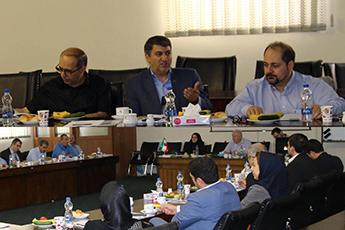 جلسه تبادل نظر و هم اندیشی اعضای هیات علمی سازمان مدیریت صنعتی
