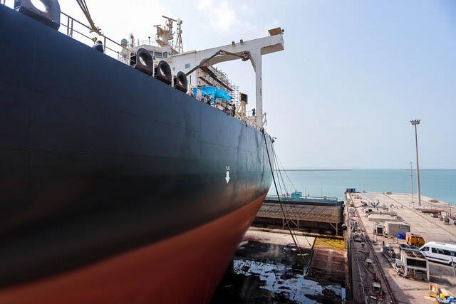تعمیر نفتکش سابیتی با شرایط ویژه در ایزوایکو