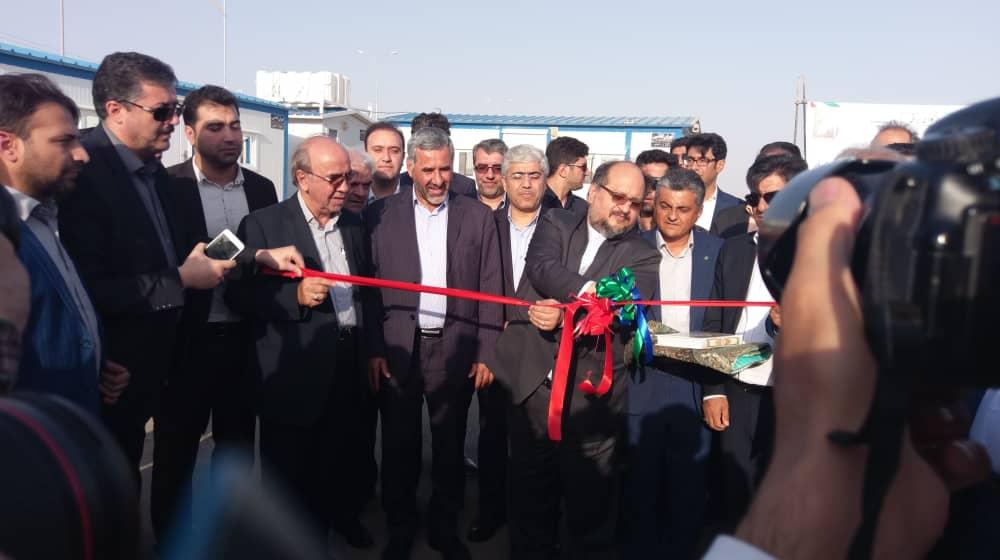 مراسم افتتاح و استقرار گمرک جمهوری اسلامی ایران در منطقه  ویژه اقتصادی گرمسار