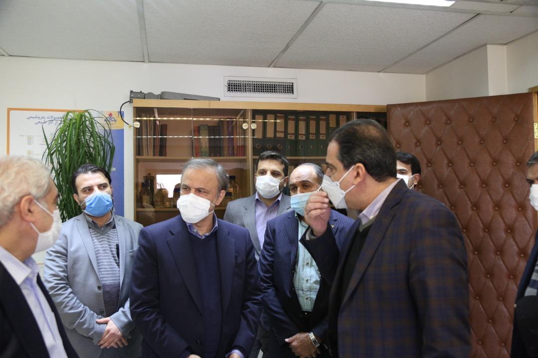 بازدید وزیر صنعت، معدن و تجارت از سازمان گسترش و نوسازی صنایع ایران(ایدرو)