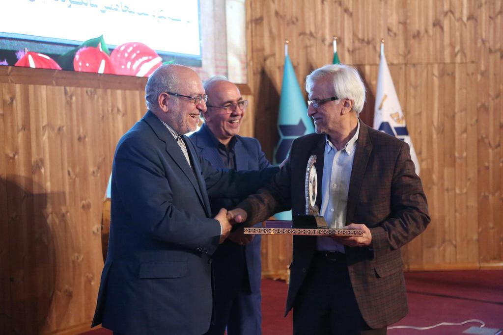 مراسم نکوداشت پنجاهمین سالگرد تأسیس سازمان گسترش و نوسازی صنایع ایران