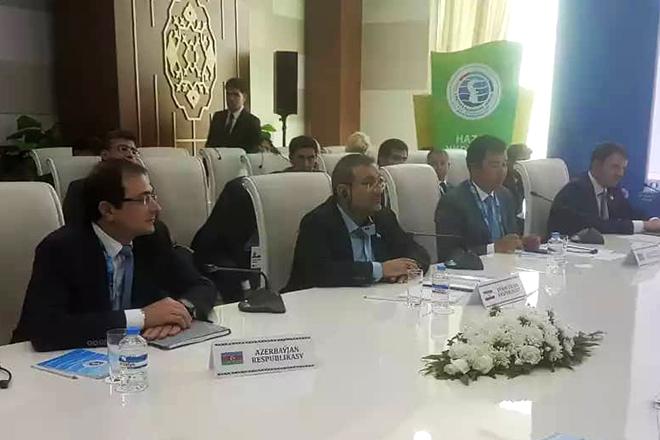 ایران آماده گسترش همکاریهای صنعتی و تجاری با کشورهای خزر