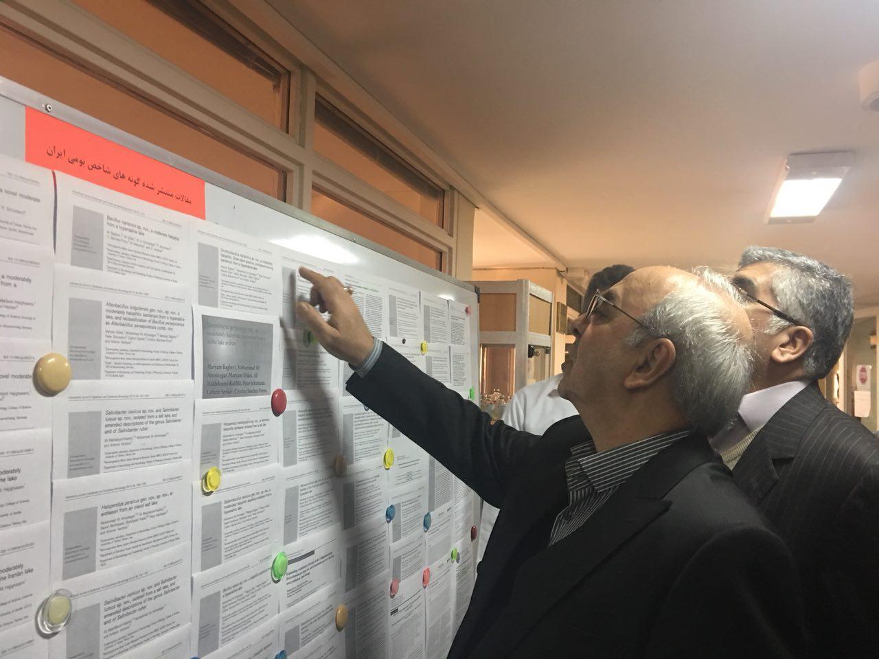 گزارش تصویری بازدید رئیس هیات عامل ایدرو از طرحهای تحقیقاتی جهاد دانشگاهی
