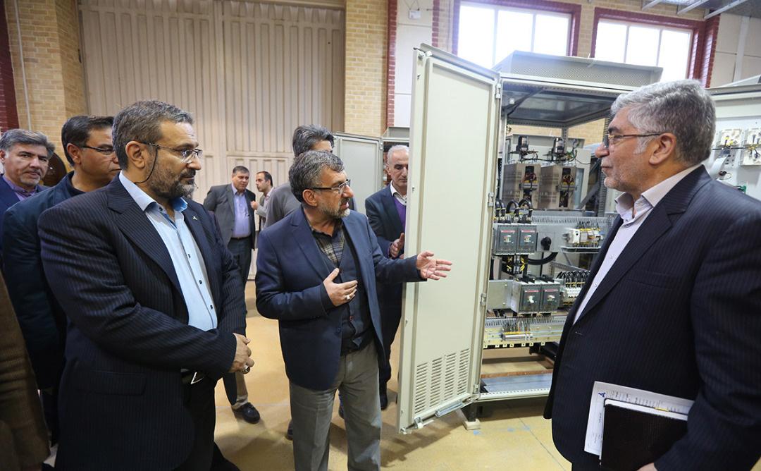 بازدید رئیس هیئت عامل ایدرو از مجتمع تحقیقاتی شهدای جهاد دانشگاهی و پارک علم و فناوری البرز