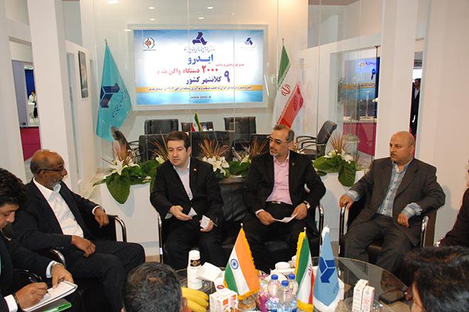ابراز تمایل هند به همکاری با ایران در حوزه صنایع ریلی و ریسندگى بافندگى