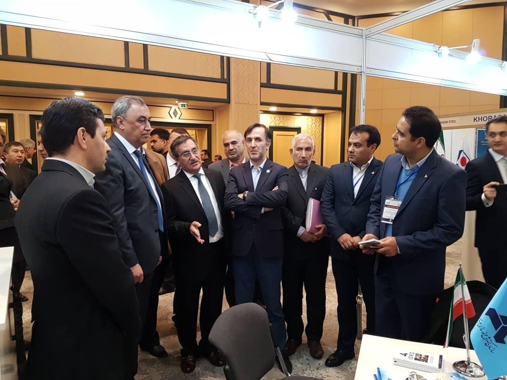 گزارش تصویری حضور ایدرو در نمایشگاه اختصاصی توانمندی های ایران در ازبکستان