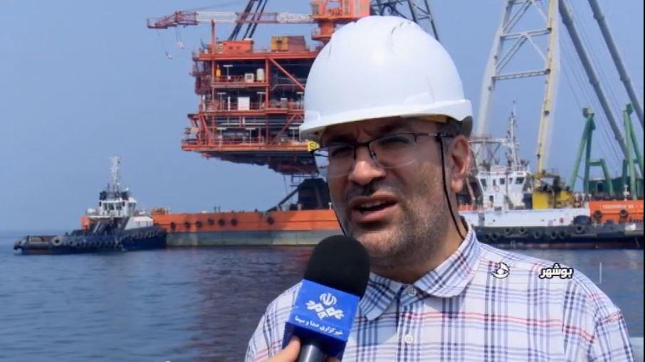 ایدرو رکورد دار نصب سکوی گازی در منطقه خلیج فارس