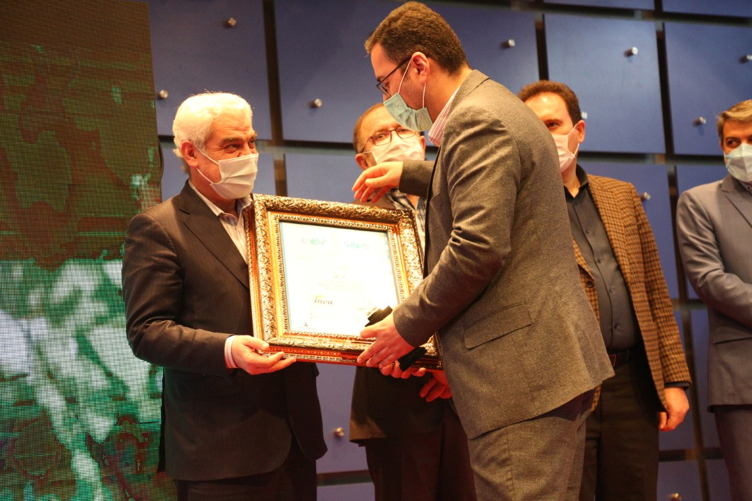 مراسم تجلیل از برگزیدگان هجدهمین جایزه ملی تعالی سازمانی