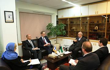 دیدار معاون وزیر اقتصاد و اشتغال فنلاند با  رئیس سازمان گسترش و نوسازی صنایع ایران
