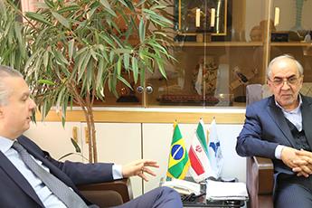 گسترش ھمکاری ھای ایران و برزیل در حوزه حمل و نقل