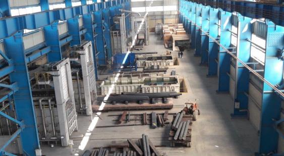 راه اندازی بخش عملیات حرارتی طرح توسعه مجتمع صنعتی اسفراین