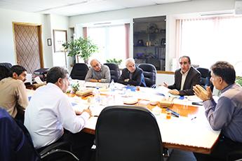 برگزاری جلسه هیات عامل سازمان گسترش و نوسازی صنایع ایران