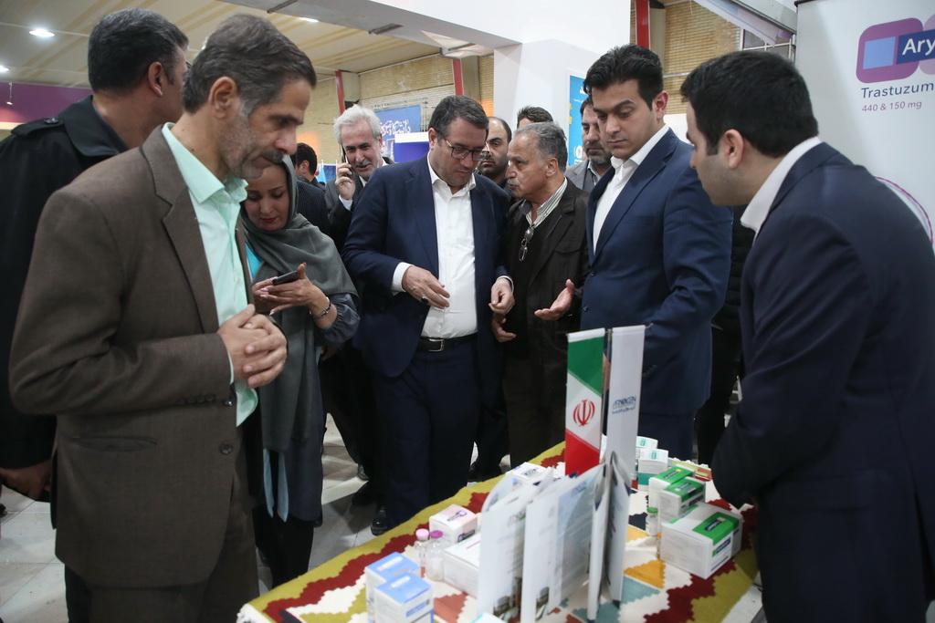 بازدید وزیر صمت از نمایشگاه ربع رشیدی (رینوتکس ۲۰۱۹ )