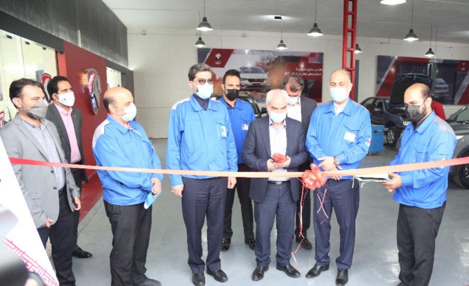 افتتاح مراکز تخصصی سفارشی سازی خودرو شرکت آپکو با حضور رئیس هیات عامل ایدرو