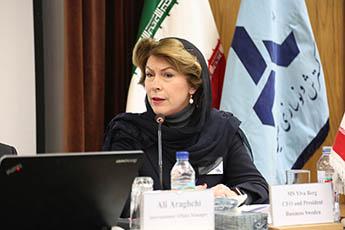 دفتر تجاری سوئد در تهران آغاز به کار می کند