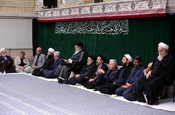 بیانات رهبر انقلاب در پایان مراسم عزاداری اربعین حسینی