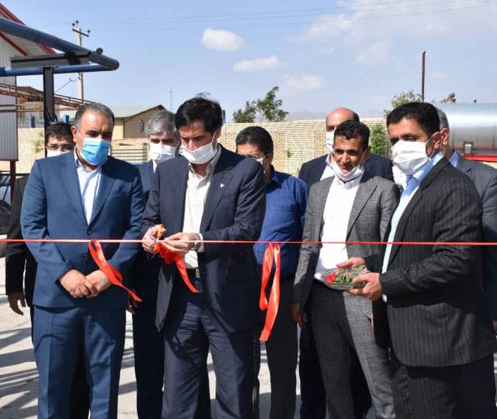 افتتاح ۲ طرح صنعتی در استان مرکزی با حضور معاون وزیر صمت و رئیس هیات عامل ایدرو