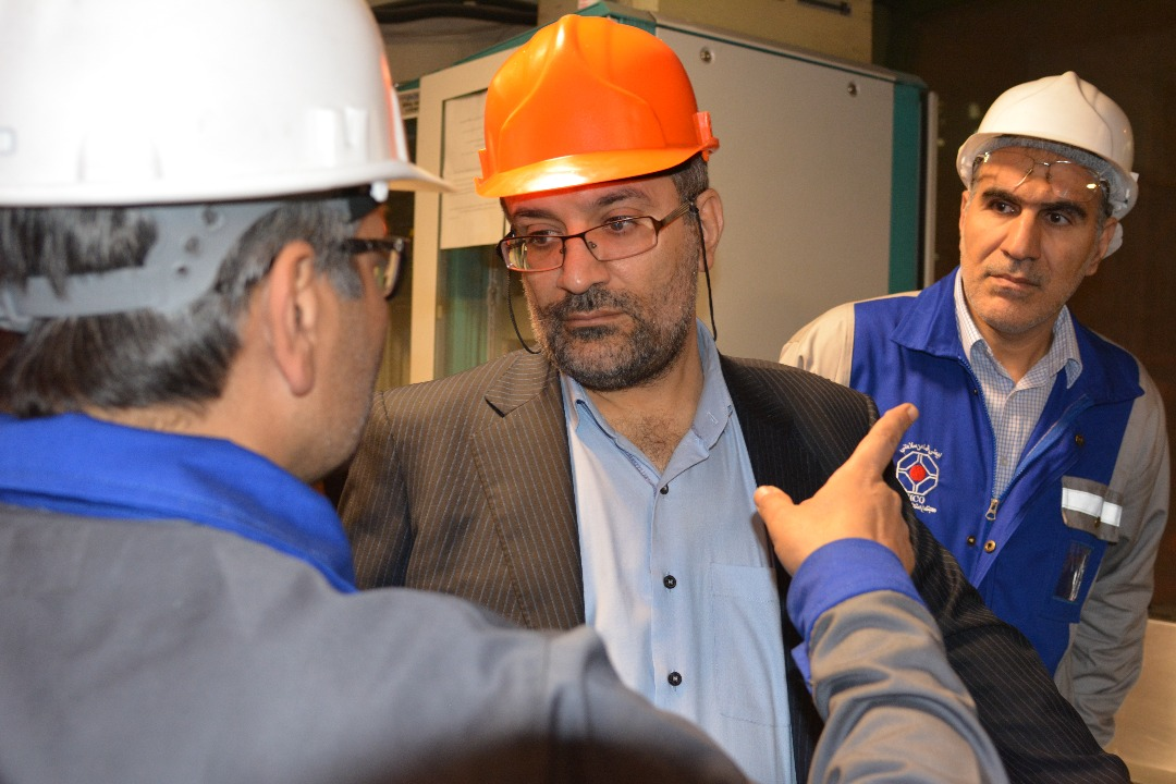 بازدید رئیس هیات عامل ایدرو از کارخانه های لوله گستر و مجتمع صنعتی اسفراین