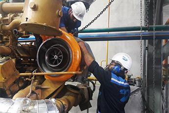 بازسازی توربوشارژر موتورهای مولد برق در شرکت ایتکو