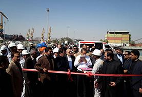 گزارش تصویری : مراسم تحویل کشتی اقیانوس پیمای ساخت ایدرو به ناوگان کشتیرانی جمهوری اسلامی ایران