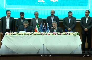 مراسم امضای تفاهم نامه همکاری های رسانه ملی و وزارت صمت در خصوص نهضت ساخت داخل