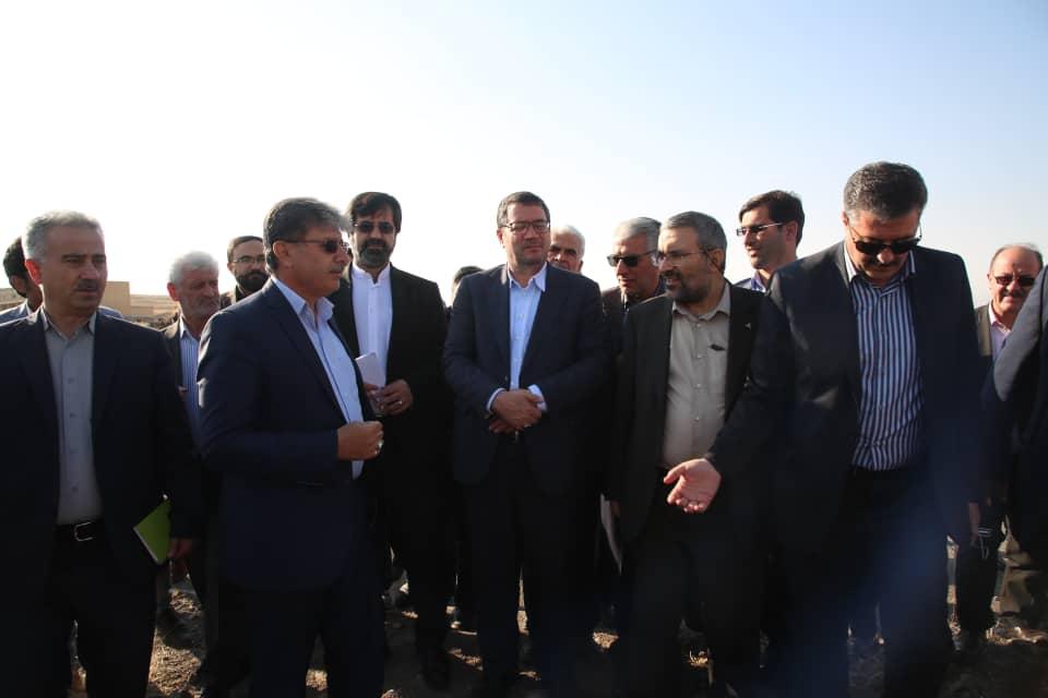 گزارش تصویری بازدید وزیر صمت و رییس هیات عامل ایدرو از اردبیل