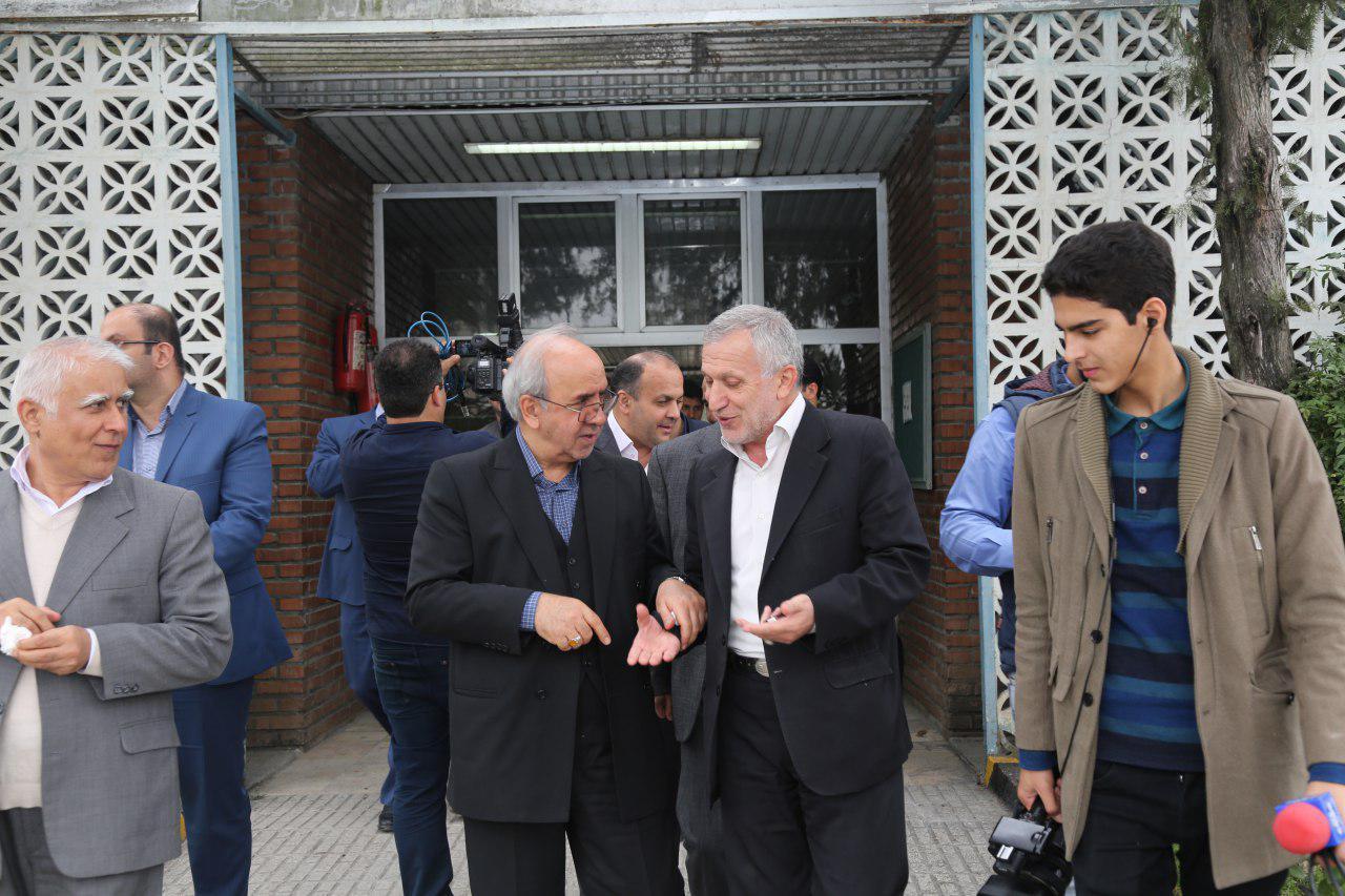 بازدید رئیس هیات عامل ایدرو از طرح های صنعتی استان مازندران