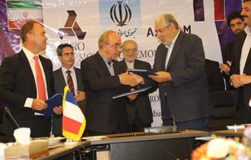 امضای توافقنامه همکاری مشترک ایدرو وآلستوم فرانسه