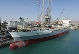 کشتی اقیانوس پیمای ساخت ایدرو تحول کشتیرانی شد