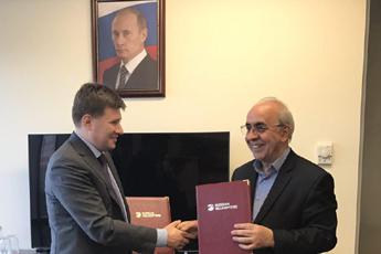 ایدرو و راشن هلی کوپتر توافق نامه همکاری امضا کردند