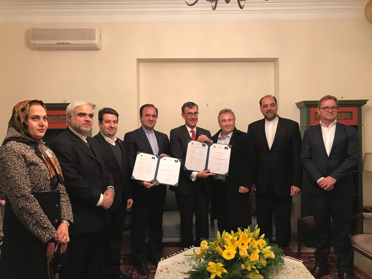امضای موافقتنامه توسعه همکاریهای صنعتی استرالیا و ایدرو