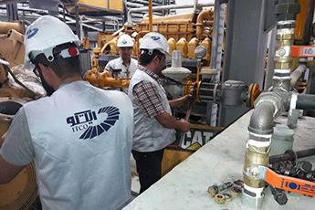 نخستین نیروگاه تولید همزمان برق و بخار ایتکو به بهره برداری رسید