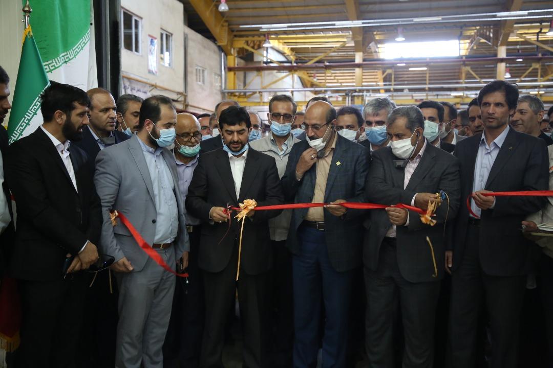 افتتاح ۳ طرح تولیدی در قزوین با حضور سرپرست وزارت صمت
