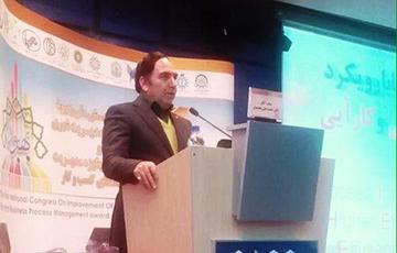 سخنرانی مدیرعامل سازمان مدیریت صنعتی در همایش بهبود سیستم های مدیریت شهری