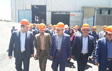 بازدید رئیس ایدرو به همراه اعضای کمیسیون وِیژه حمایت از تولید ملی از واحدهای صنعتی دولتی و خصوصی اسفراین