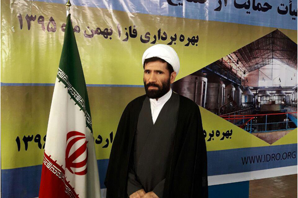 حجه الاسلام و المسلمین کریم محمدی رئیس دادگستری شهرستان شوش